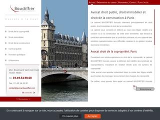 Avocat droit de la copropriété Paris 8
