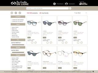 Mes lunettes en ligne