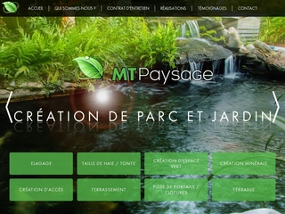 MT Paysage : création, aménagement de jardin - Lille (59)