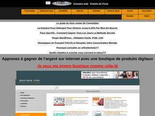 Boutique de produit numérique