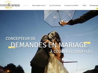 Surprises romantiques à Paris