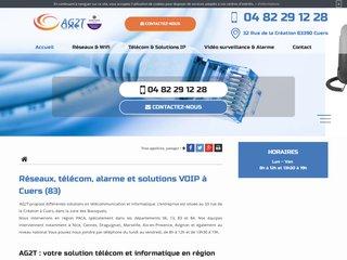 AG2T : votre spécialiste en téléphonie IP, réseaux Lan&Wan et vidéo surveillance