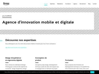 Création de votre application mobile