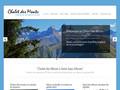 Chalet des Monts, centre de vacances 78 lits dans les Alpes