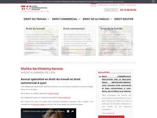 Avocat rupture contrat de travail Lyon, Bourg-en-Bresse