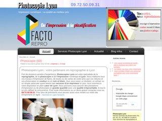 Reprographie-Photocopies Lyon