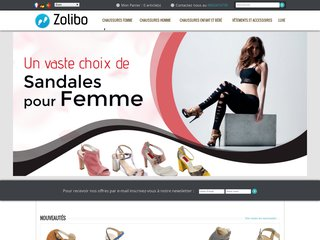 Zolibo : escarpin pas cher