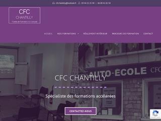 Centre de formation conduite à Chantilly (60)