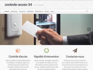 entreprise contrôleur d'accès Montpellier