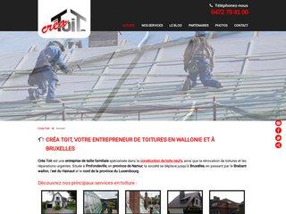 Créa Toit, entreprise de toiture à Namur