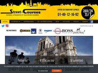 Coursier à Paris