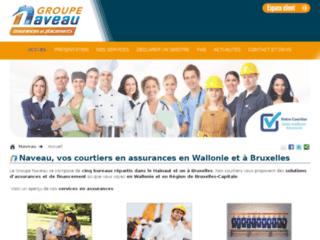 Bureau d'assurances Naveau en Wallonie et à Bruxelles