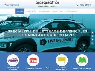 Orca Graphics, lettrage publicitaire à Namur