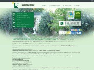 Prudon Paysages, aménagement jardin Nice, Antibes, Cagnes-sur-Mer