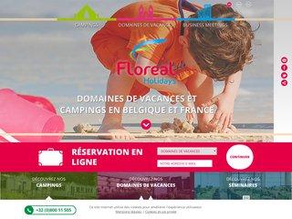 Floréal : solutions de séjours en camping et domaines de vacances en Belgique