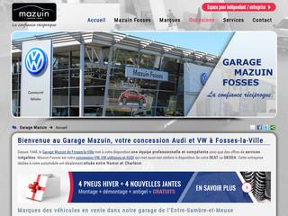 Garage Mazuin : Volkswagen, Audi et VW utilitaires entre Charleroi et Namur