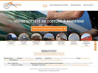 Rebatitoit : travaux de toiture en province de Namur