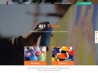 Art Paint : peinture en bâtiment et art mural à Namur