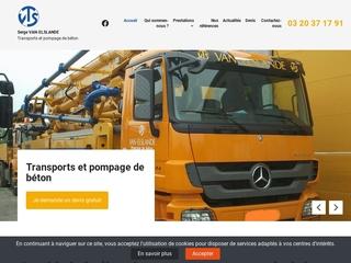 Livraison béton prêt à l'emploi Lille, camion toupie 59