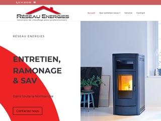 Réseau Energies - fournisseur en chauffage et énergies renouvelables pour les particuliers et les professionnels