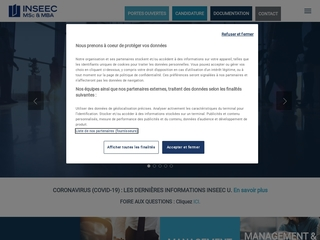 INSEEC : MSc & MBA