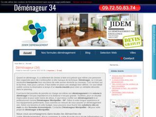 Demenageur pas cher Montpellier