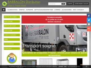 Barralon distribution