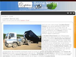 Location de benne Nantes