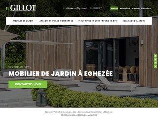 Ets Gillot Jardin, meubles et aménagements extérieurs en bois à Namur