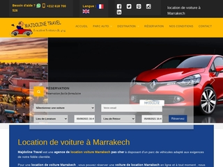 Majdoline travel - Contact location voiture Marrakech