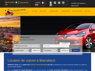 Majdoline travel - Contact location voiture Marrakech