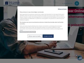 SUP CAREER – Ecole de commerce en alternance