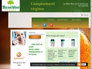 Exceldiet Pharma, compléments alimentaires