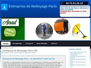 Entreprise de Nettoyage Paris