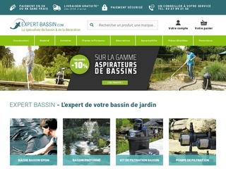 Expert Bassin : le spécialiste du bassin de jardin