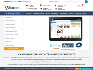 Scanner de code barre - Waapos - Point de vente