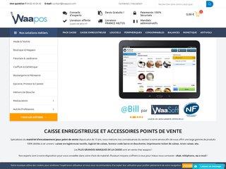 Scanner de code barre - Waapos - Point de vente