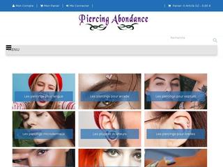 Piercing abondance