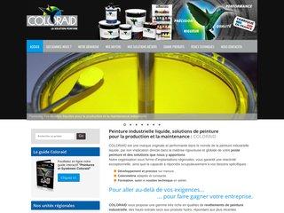 Coloraid, solutions de peintures liquides industrielles