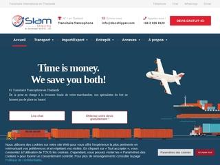 Siam Shipping : Transporteur international basé en Thaïlande