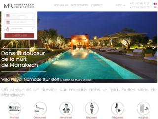Marrakech Private Resort : Circuit touristique au Maroc