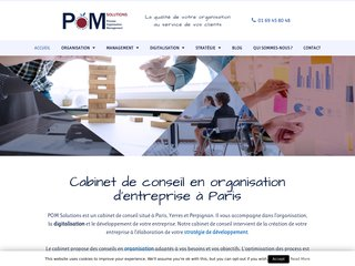 POM Solutions : Conseil en organisation d'entreprise en Ile de France
