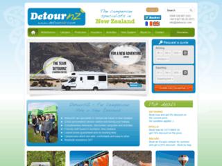 DetourNZ, pour la location de camping-car en Nouvelle-Zélande