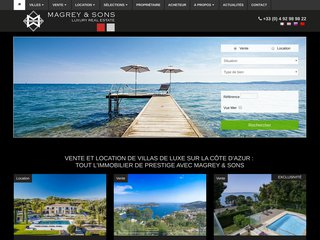 Agence immobilière d'exception à Cannes, Magrey and Sons