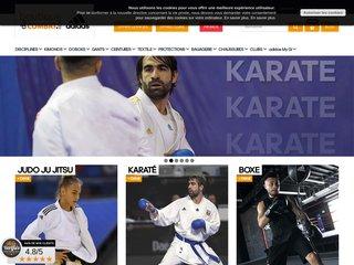 Boutique du combat : équipement de karate