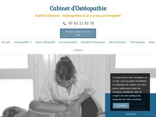 Cabinet d'Ostéopathie pour l'enfant à Crécy-la-Chapelle