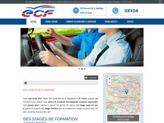 ECF, votre centre de formation au permis de conduire
