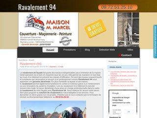 Ravalement façade - 94
