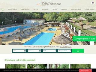 Croix Clémentine : Camping 4 étoiles Gard