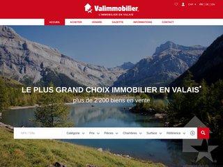 Valimmobilier SA: 8 agences en plaine et montagne